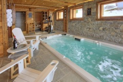 Spa de nage haut de gamme en Haute Savoie