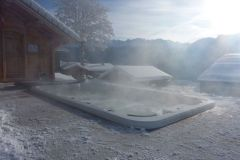 Vente spa de nage Chamonix